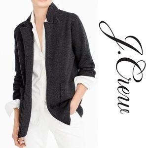 J. Crew Sophie Open Front Sweater Blazer Medium